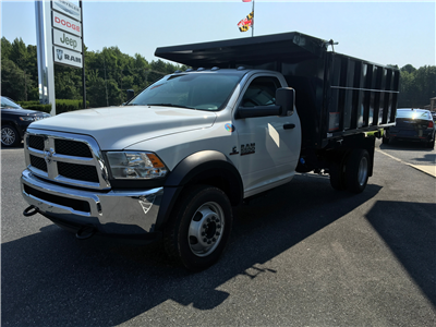 2018 Ram 5500 Regular Cab DRW 4x2,  Reading Landscaper SL Landscape Dump #18093 - photo 1