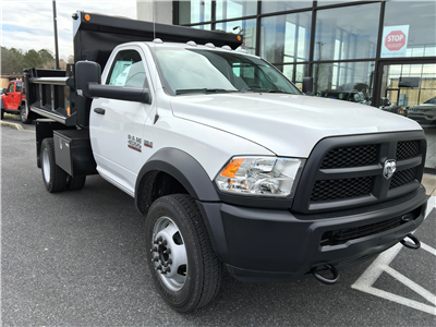 2018 Ram 4500 Regular Cab DRW 4x4,  Galion Dump Body #18182 - photo 3