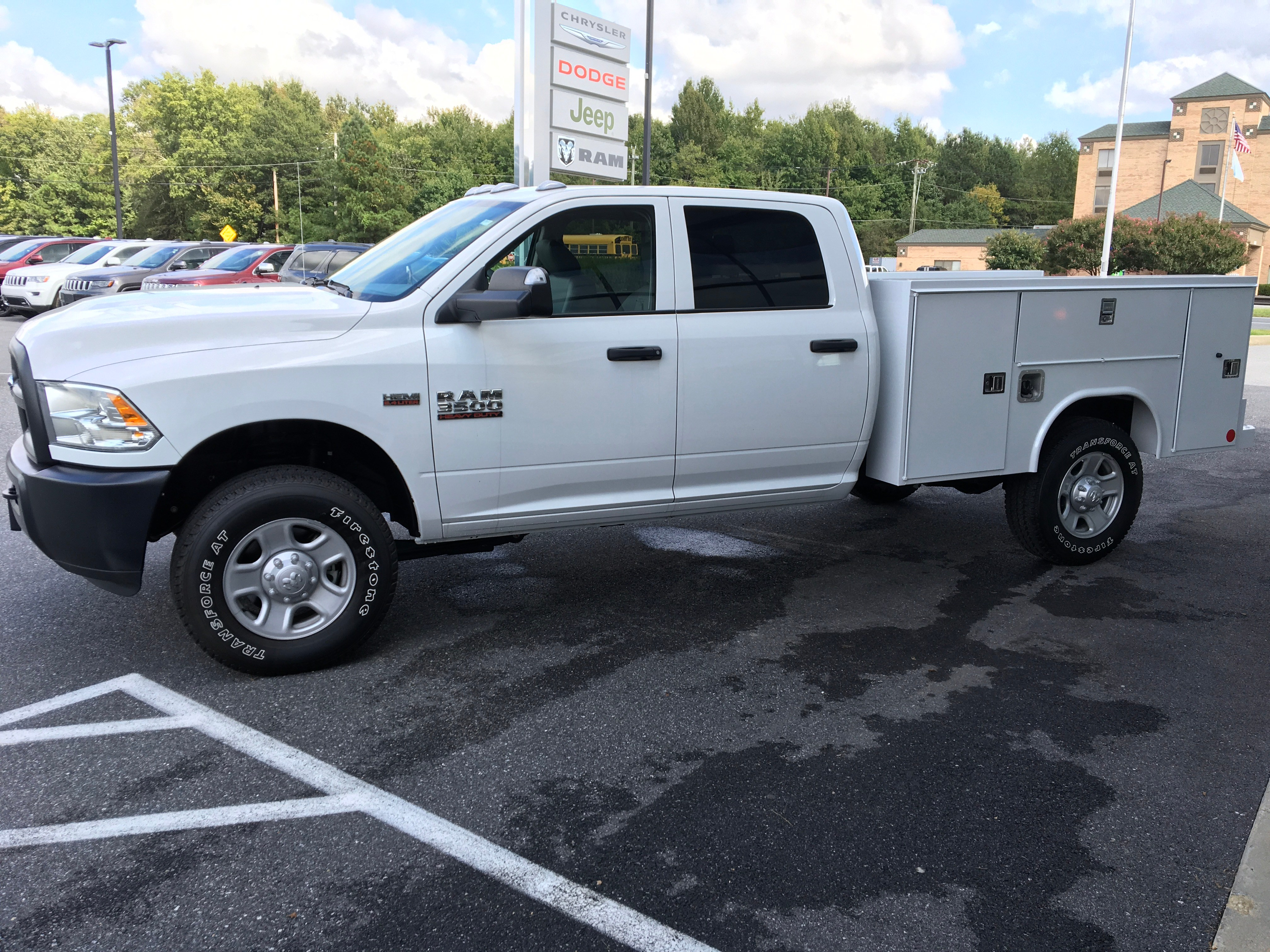 2018 Ram 3500 Crew Cab 4x4,  Reading SL Service Body #18240 - photo 5