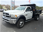 2018 Ram 5500 Regular Cab DRW 4x4,  Rugby Dump Body #18282 - photo 1