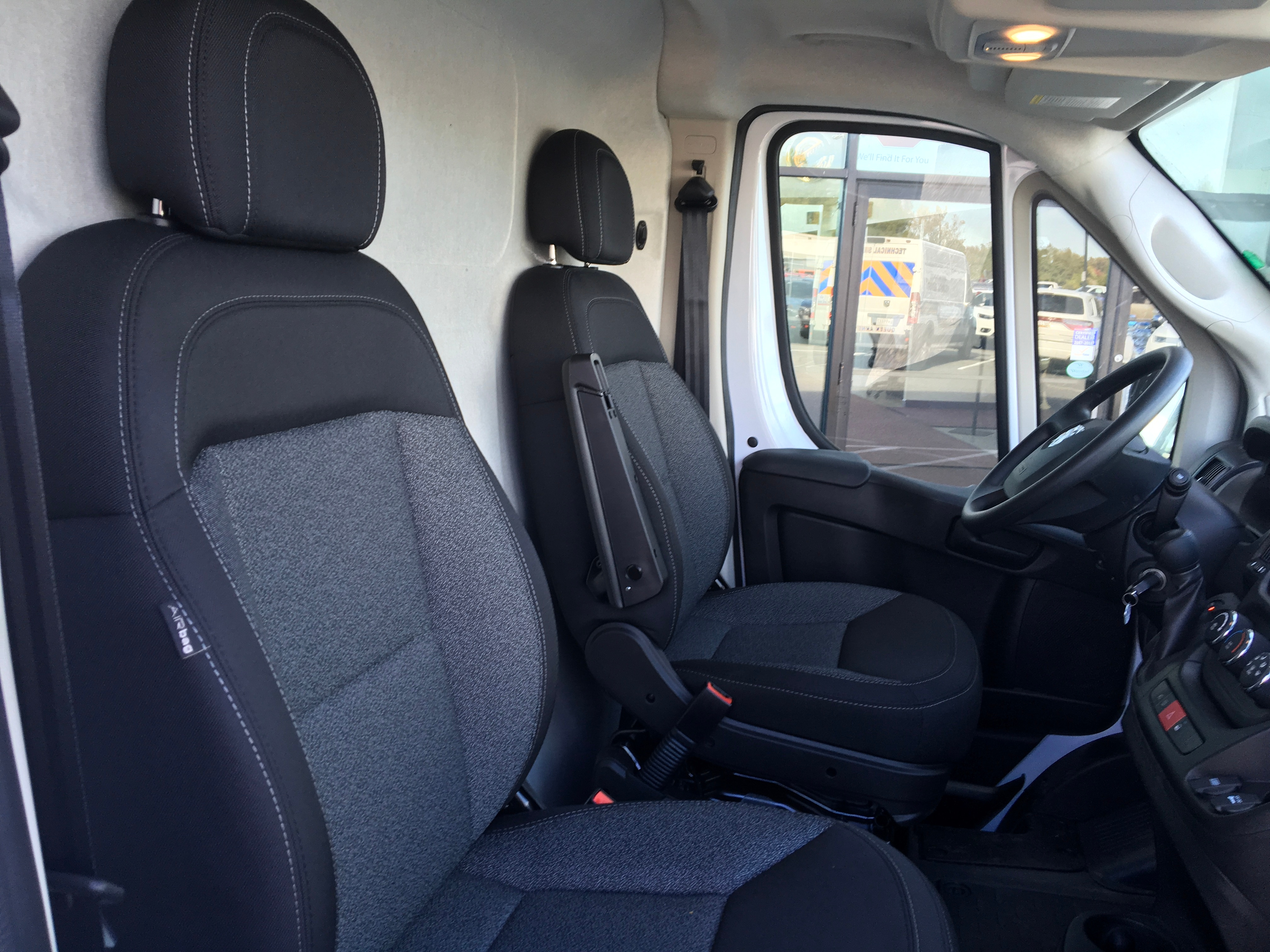 2018 ProMaster 2500 High Roof FWD,  Ranger Design Upfitted Cargo Van #18565 - photo 12