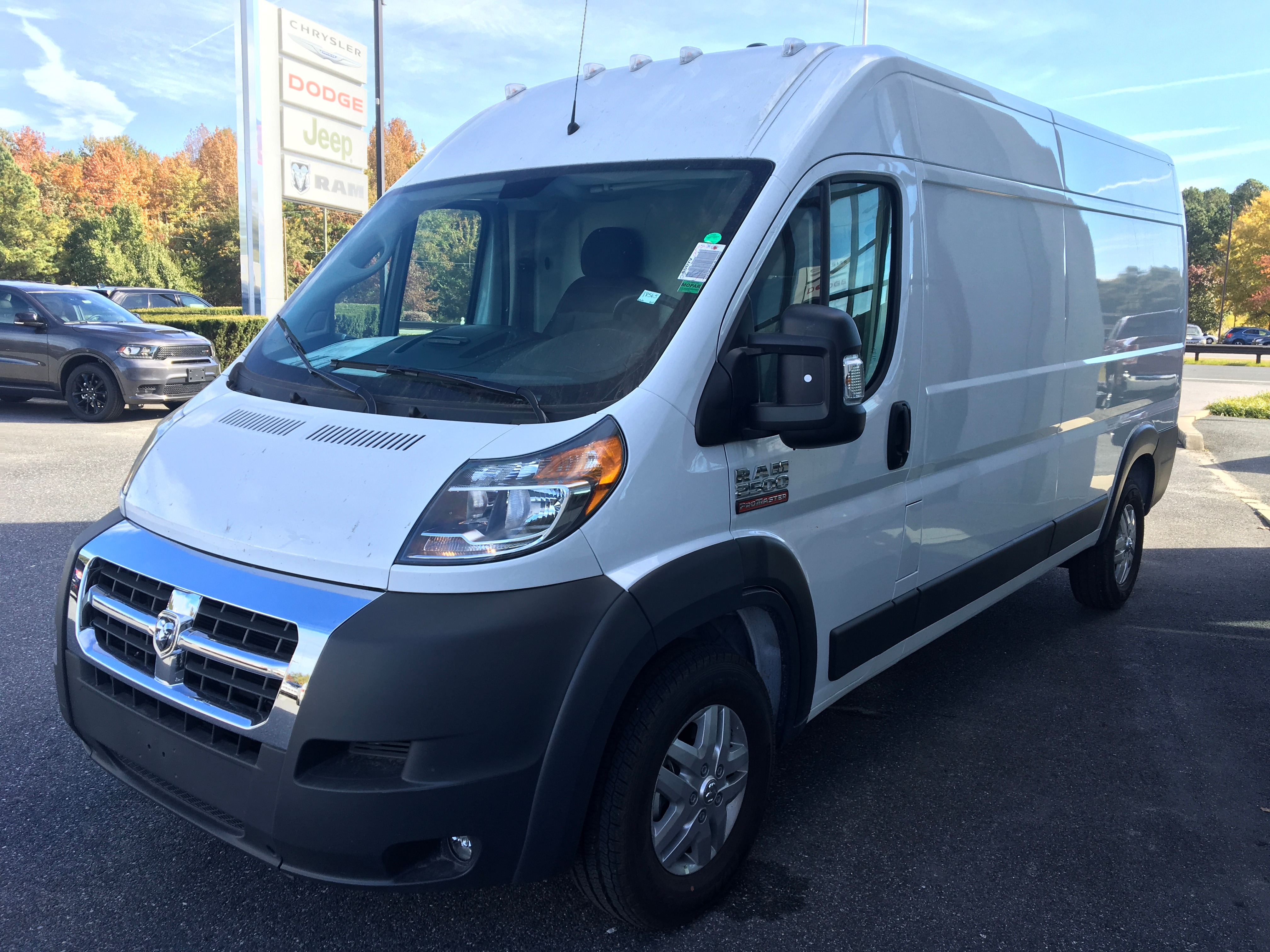 2018 ProMaster 2500 High Roof FWD,  Ranger Design Upfitted Cargo Van #18565 - photo 1
