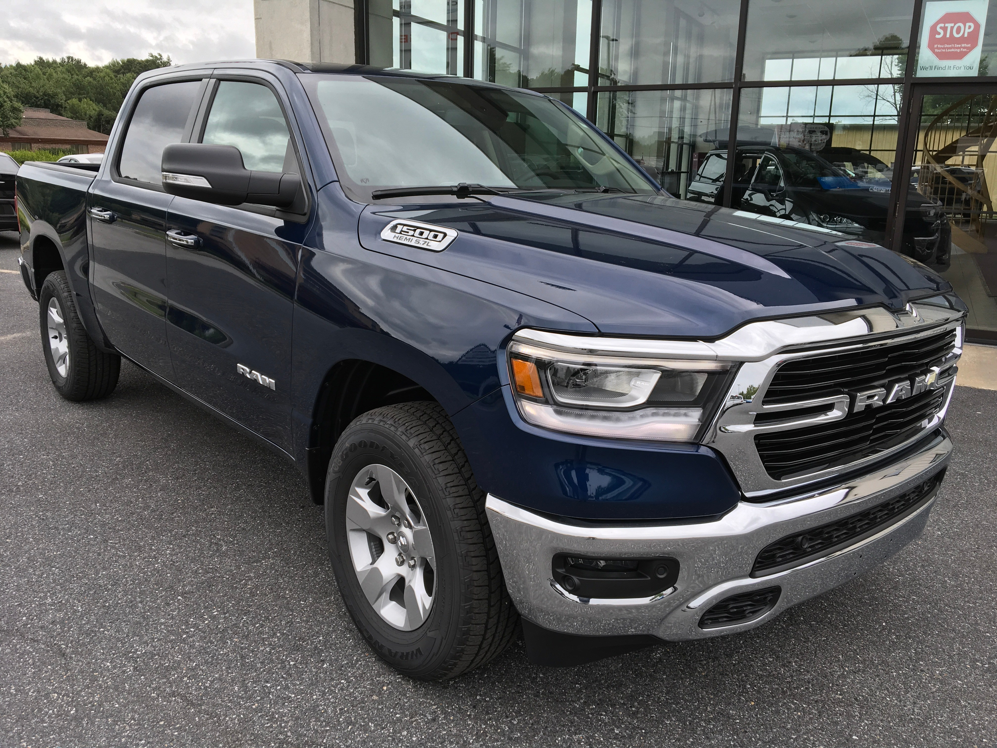 2019 Ram 1500 Crew Cab 4x4,  Pickup #19049 - photo 3