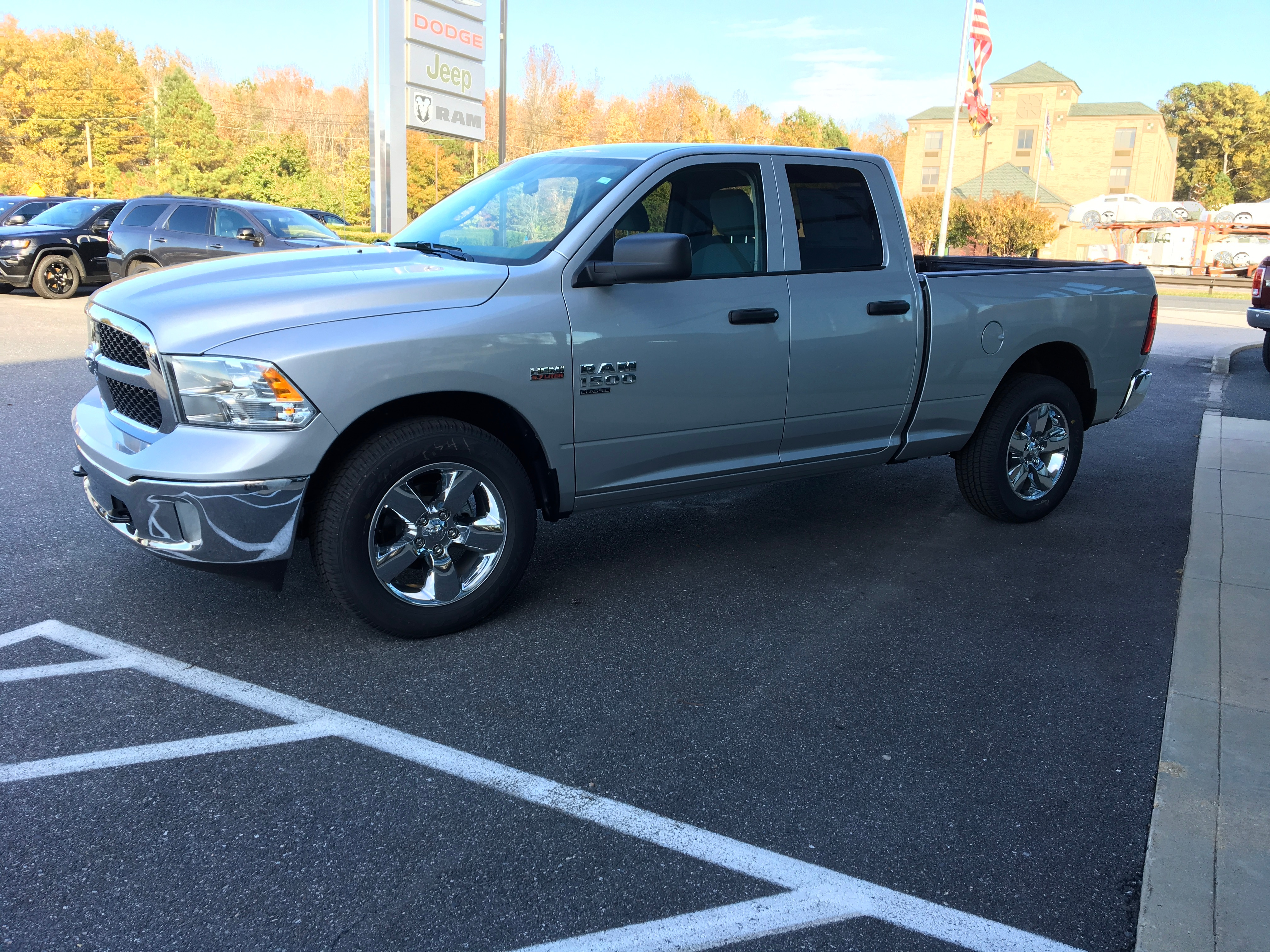 2019 Ram 1500 Quad Cab 4x4,  Pickup #19089 - photo 5