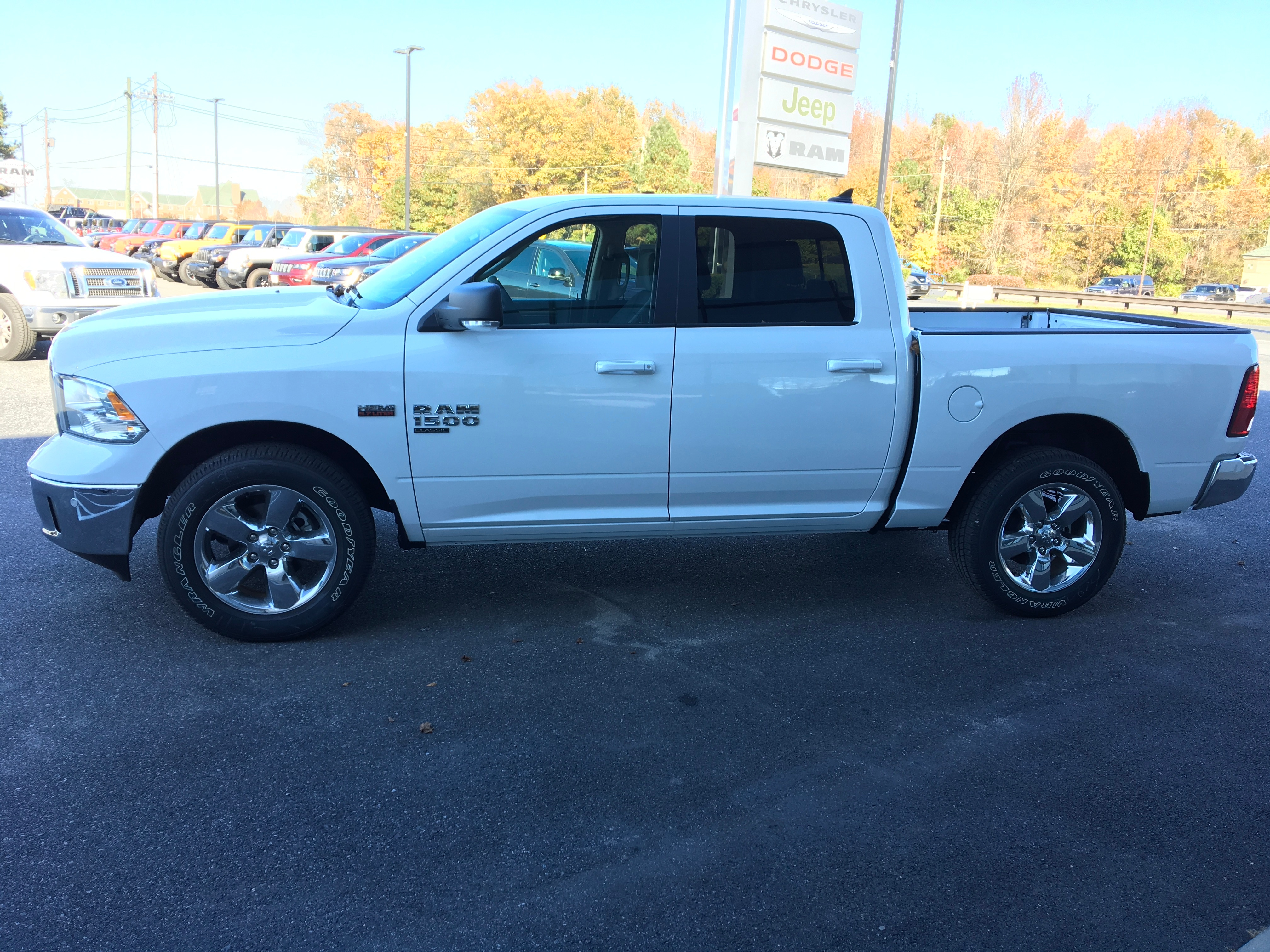 2019 Ram 1500 Crew Cab 4x4,  Pickup #19122 - photo 5
