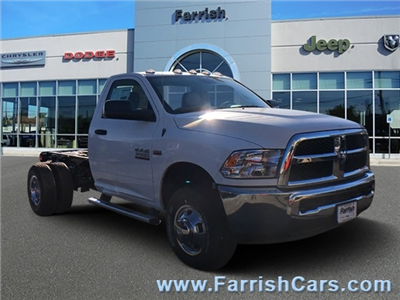 2018 Ram 3500 Regular Cab DRW 4x4, Cab Chassis #D8905 - photo 1