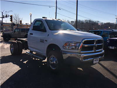2018 Ram 3500 Regular Cab DRW 4x4, Cab Chassis #D8905 - photo 3