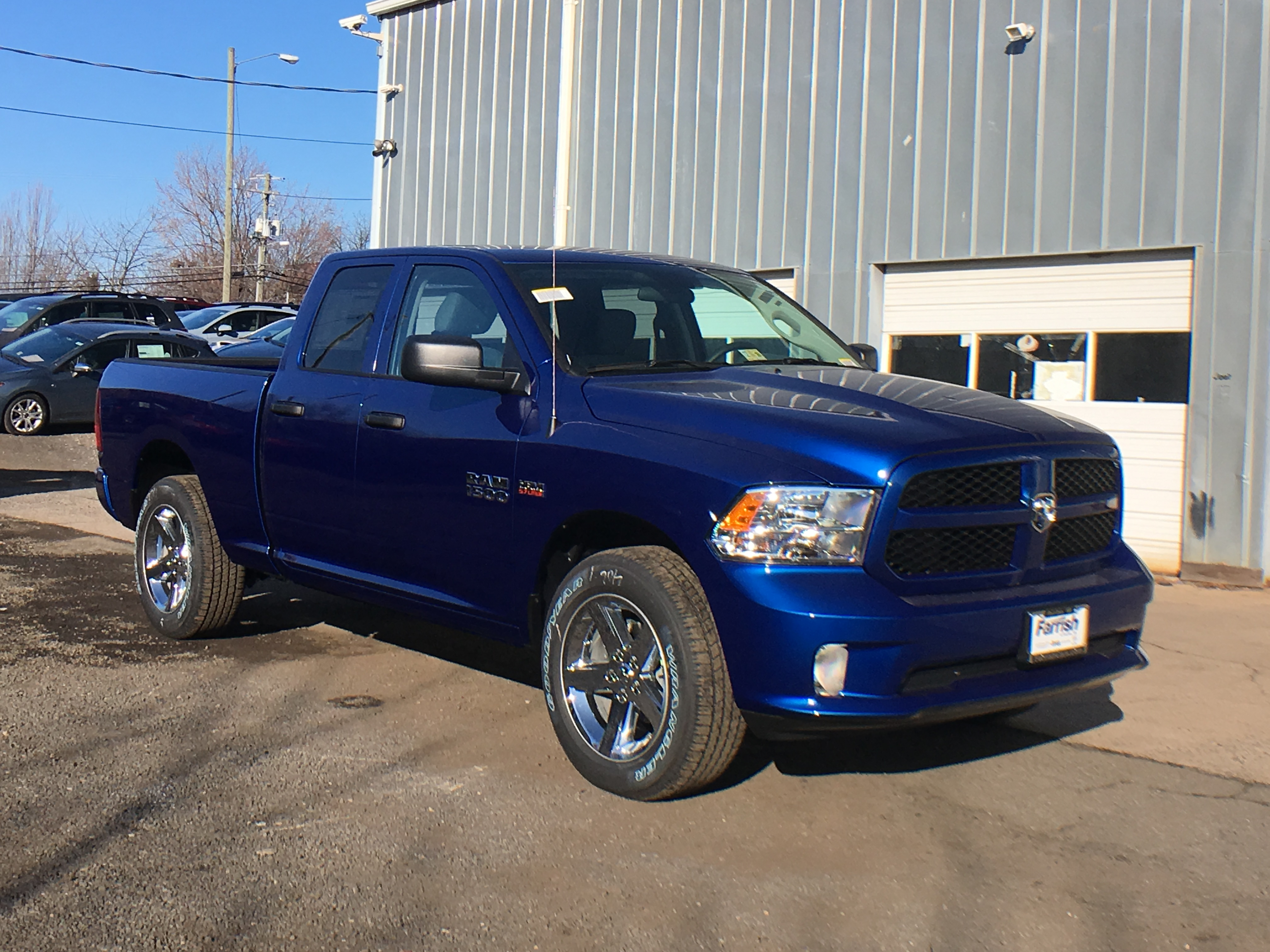 2018 Ram 1500 Quad Cab 4x4, Pickup #D8940 - photo 3