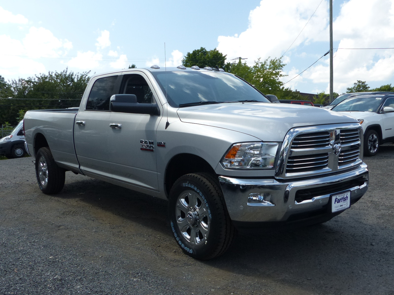 2018 Ram 3500 Crew Cab 4x4,  Pickup #D8994 - photo 3