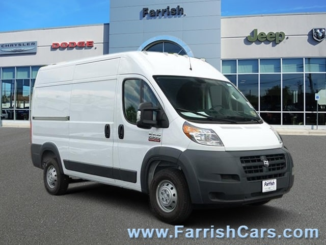 2018 ProMaster 2500 High Roof FWD,  Empty Cargo Van #D9091 - photo 1
