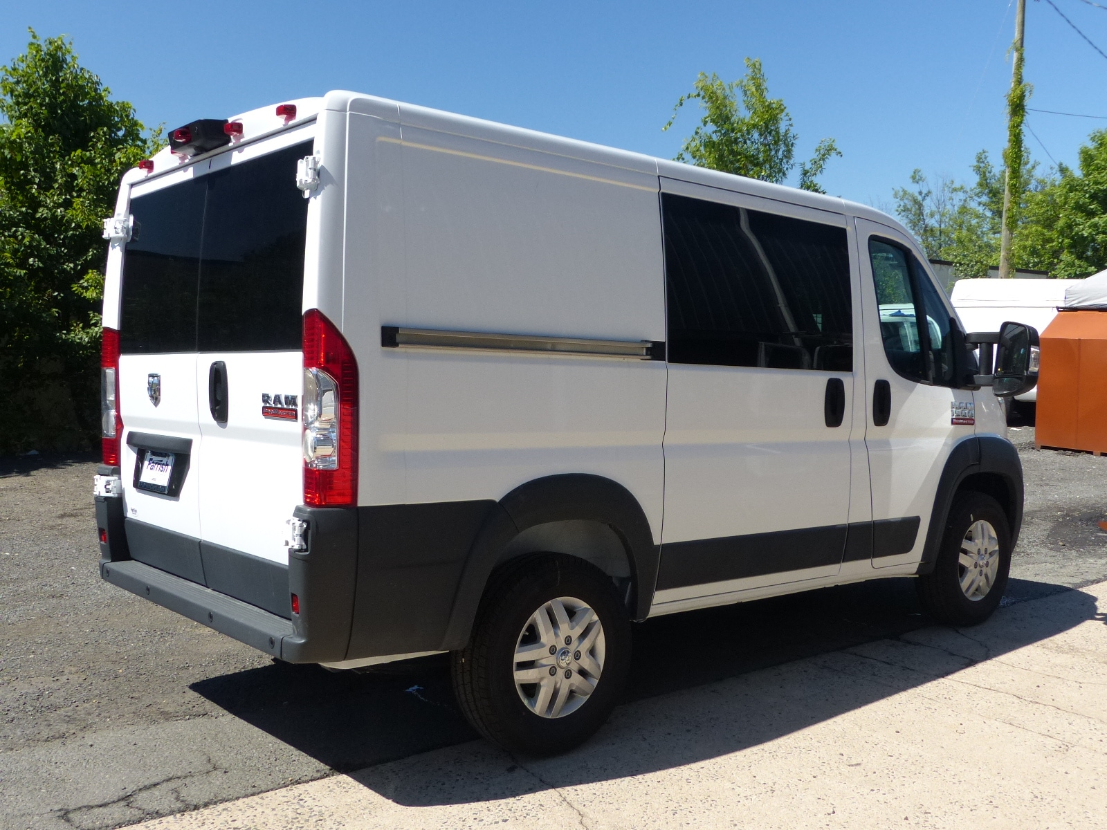 2018 ProMaster 1500 Standard Roof FWD,  Empty Cargo Van #D9180 - photo 8