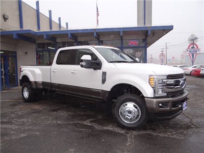 2018 F-350 Crew Cab DRW 4x4, Pickup #JEB30277 - photo 4