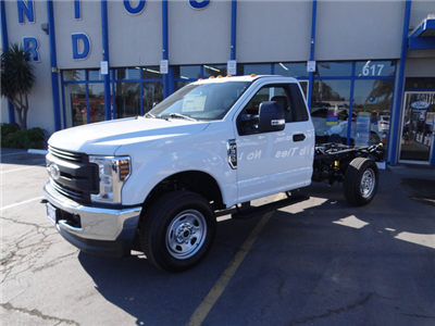 2018 F-350 Regular Cab 4x4,  Cab Chassis #JEB84824 - photo 6