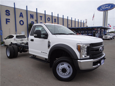 2018 F-550 Regular Cab DRW, Cab Chassis #JEB84827 - photo 1