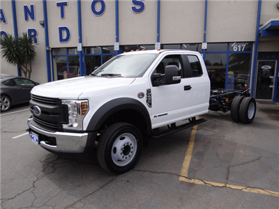 2018 F-450 Super Cab DRW 4x2,  Cab Chassis #JEB84833 - photo 1