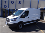2018 Transit 250 Med Roof 4x2,  Empty Cargo Van #JKB01949 - photo 1