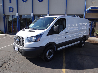 2018 Transit 250 Med Roof 4x2,  Empty Cargo Van #JKB14900 - photo 1