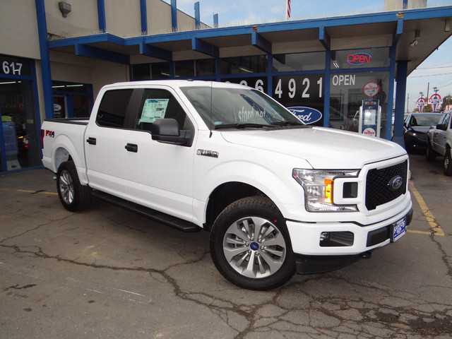 2018 F-150 Crew Cab 4x4, Pickup #JKD35514 - photo 1