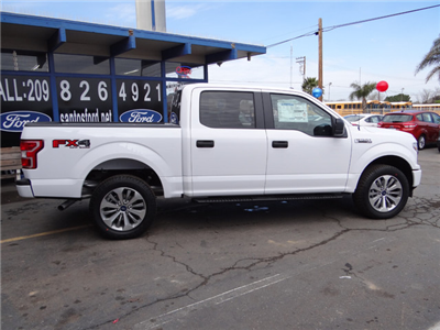 2018 F-150 Crew Cab 4x4, Pickup #JKD35514 - photo 5