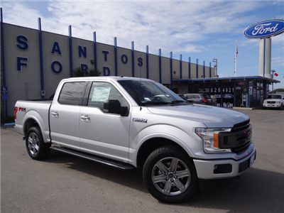 2018 F-150 Crew Cab 4x4, Pickup #JKD45810 - photo 3