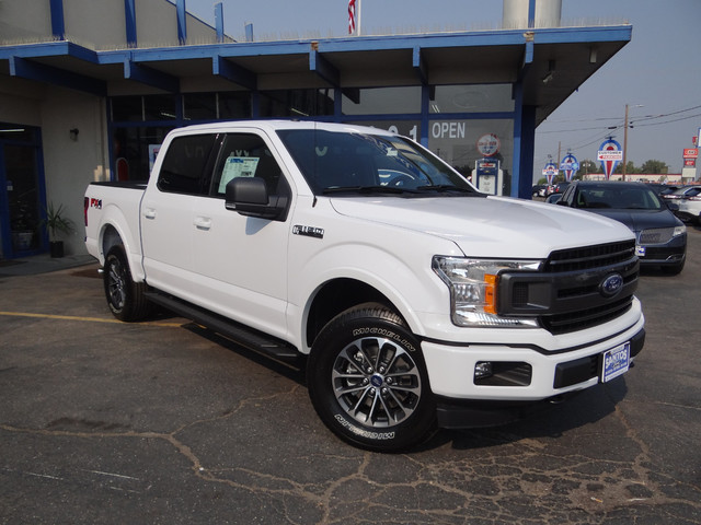 2018 F-150 SuperCrew Cab 4x4,  Pickup #JKE67268 - photo 3