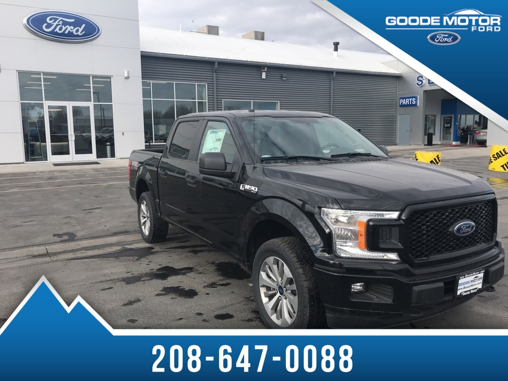 2018 F-150 Crew Cab 4x4, Pickup #BNC70845 - photo 4