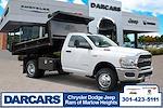 2021 Ram 3500 Regular Cab DRW 4x4,  Crysteel Dump Body #1U9044 - photo 1