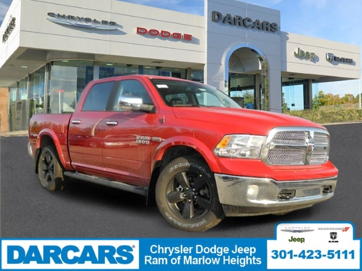 2018 Ram 1500 Crew Cab 4x4,  Pickup #DJ39012 - photo 1