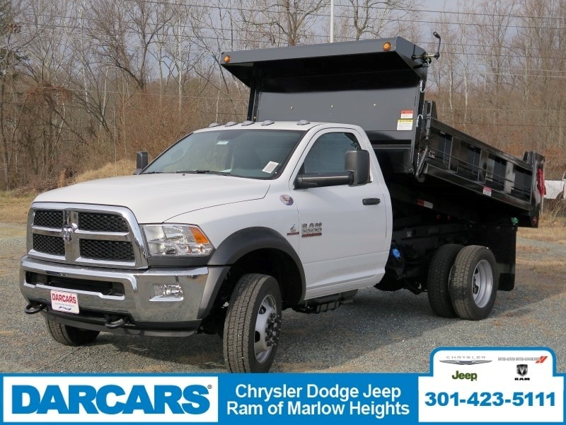 2018 Ram 5500 Regular Cab DRW 4x4, Dump Body #DJ39021 - photo 3