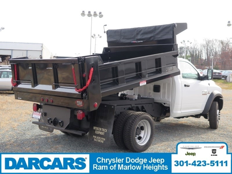 2018 Ram 5500 Regular Cab DRW 4x4, Dump Body #DJ39021 - photo 2