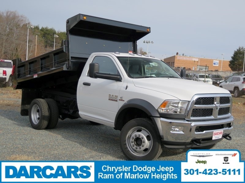 2018 Ram 5500 Regular Cab DRW 4x4,  Godwin Dump Body #DJ39021 - photo 22