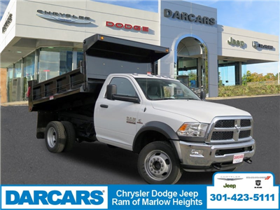 2018 Ram 5500 Regular Cab DRW 4x4, Dump Body #DJ39021 - photo 1