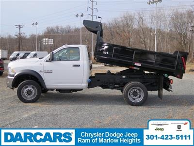 2018 Ram 5500 Regular Cab DRW 4x4,  Godwin Dump Body #DJ39021 - photo 4