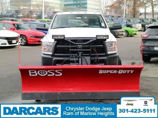 2018 Ram 2500 Regular Cab 4x4,  BOSS Snowplow Pickup #DJ39037 - photo 3