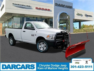 2018 Ram 2500 Regular Cab 4x4,  BOSS Snowplow Pickup #DJ39037 - photo 1
