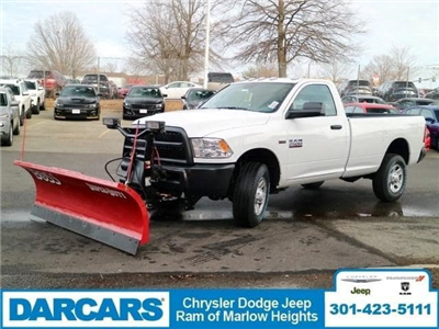 2018 Ram 2500 Regular Cab 4x4,  BOSS Snowplow Pickup #DJ39037 - photo 4