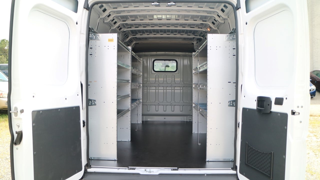 2018 ProMaster 2500 High Roof FWD,  Ranger Design Upfitted Cargo Van #DJ39516 - photo 2