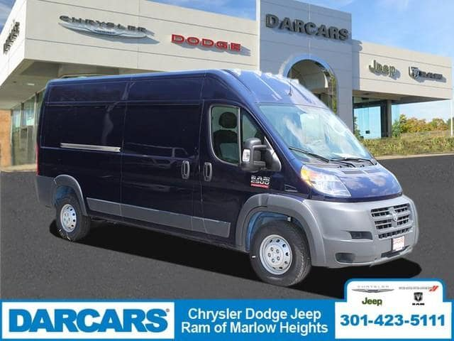 2018 ProMaster 2500 High Roof FWD, Empty Cargo Van #DJ39555 - photo 1