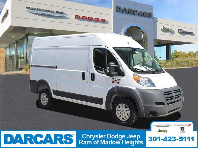 2018 ProMaster 1500 High Roof FWD,  Empty Cargo Van #DJ39559 - photo 1
