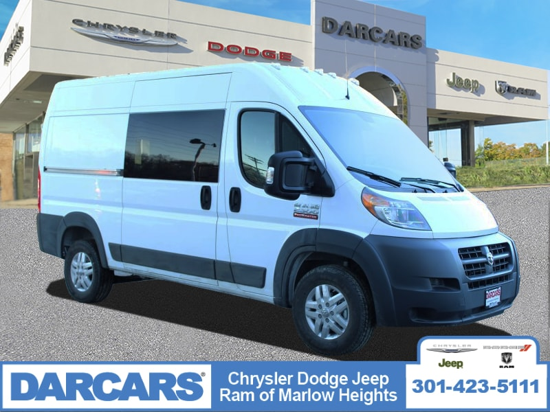 2018 ProMaster 2500 High Roof FWD,  Empty Cargo Van #DJ39573 - photo 1