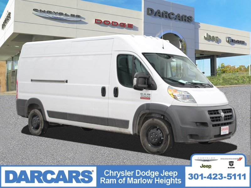 2018 ProMaster 3500 High Roof FWD,  Empty Cargo Van #DJ39576 - photo 1