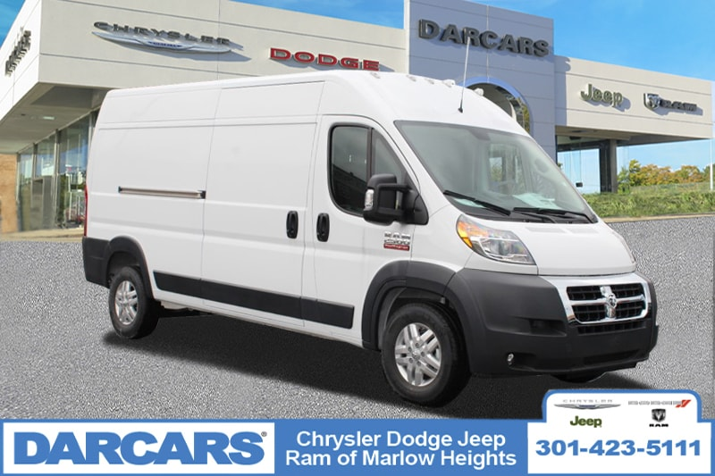 2018 ProMaster 2500 High Roof FWD,  Empty Cargo Van #DJ39579 - photo 1