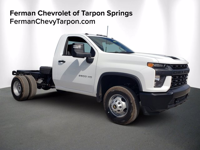 2020 Chevrolet Silverado 3500 Regular Cab DRW 4x2, Cab Chassis #20T1273 - photo 1