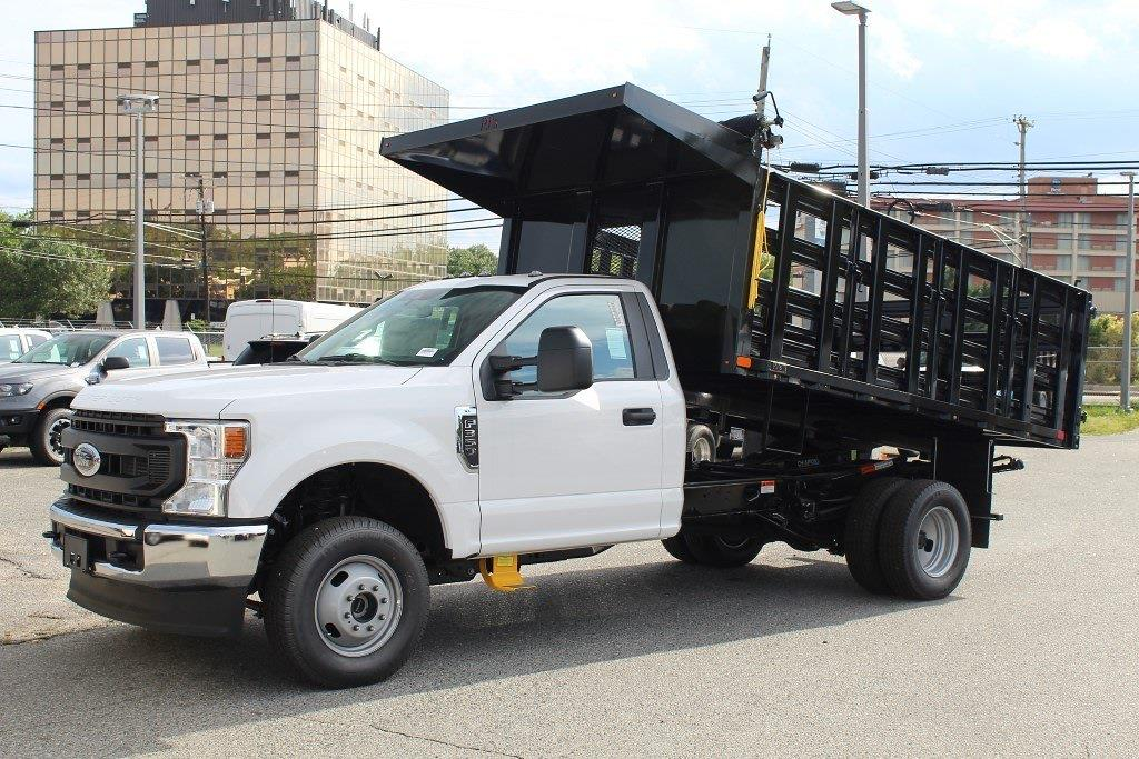 2021 F-350 Regular Cab DRW 4x4,  PJ's Truck Bodies Stake Bed #1R6531 - photo 3