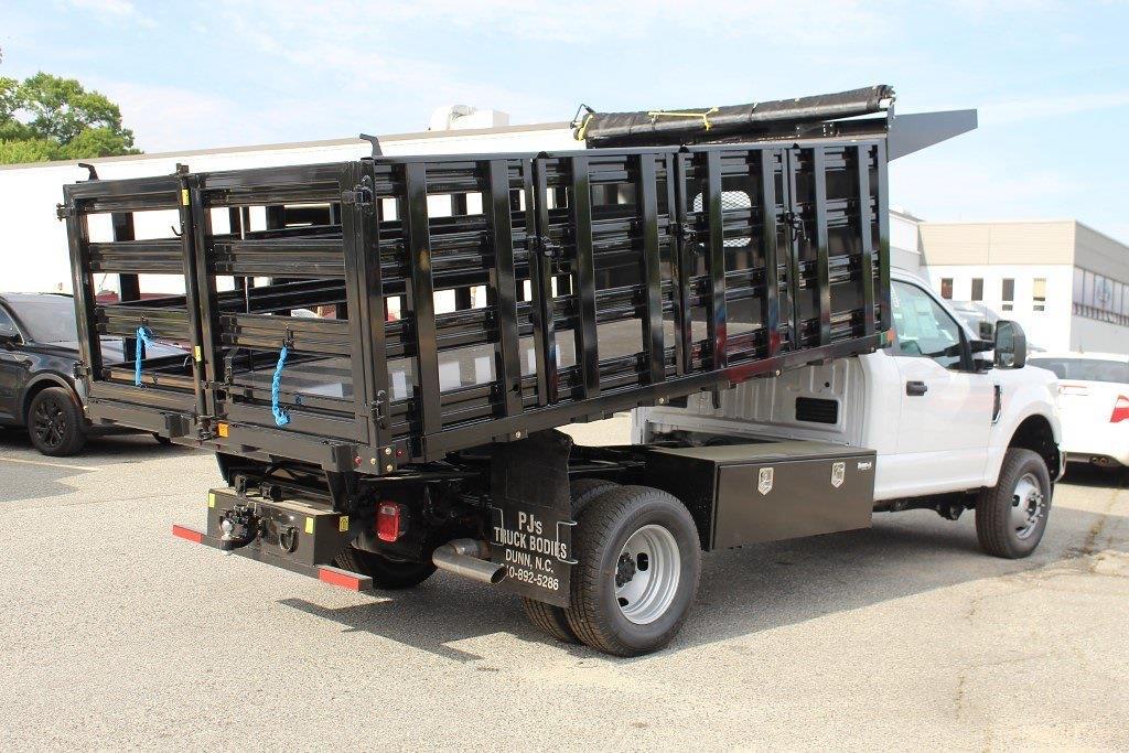 2021 F-350 Regular Cab DRW 4x4,  PJ's Truck Bodies Stake Bed #1R6531 - photo 2