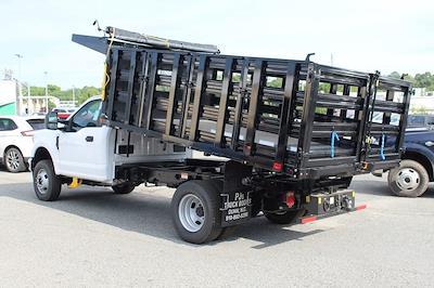 2021 F-350 Regular Cab DRW 4x4,  PJ's Truck Bodies Stake Bed #1R6531 - photo 4