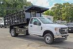 2021 F-350 Regular Cab DRW 4x4,  PJ's Truck Bodies Stake Bed #1R6531 - photo 23