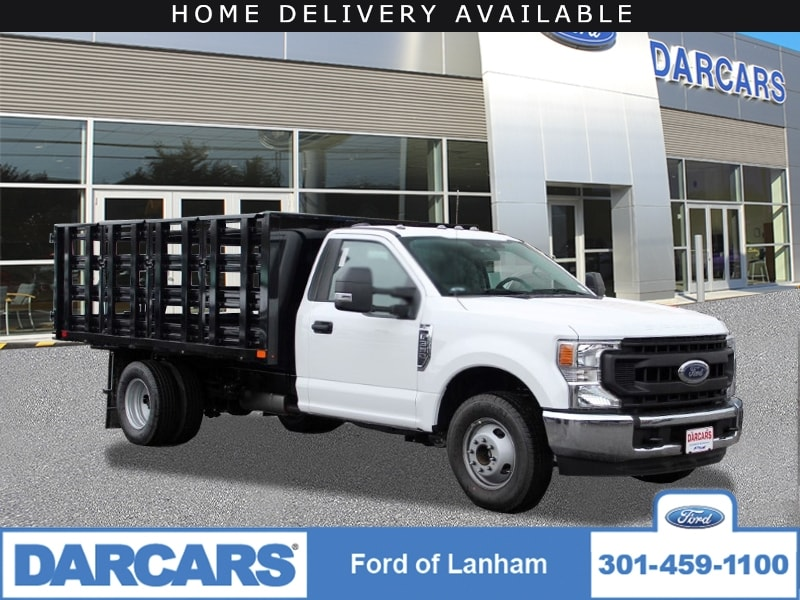 2020 Ford F-350 Regular Cab DRW RWD, PJ's Stake Bed #201820 - photo 1