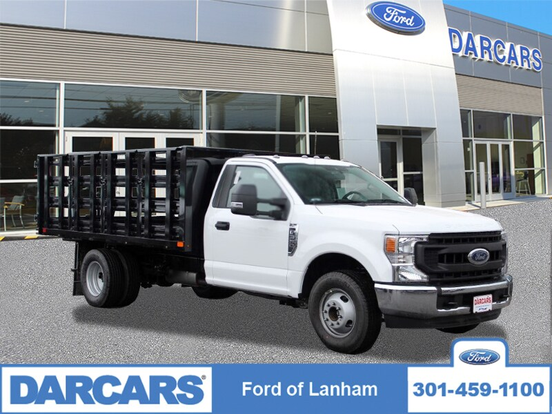 2020 Ford F-350 Regular Cab DRW 4x2, PJ's Stake Bed #201820 - photo 1