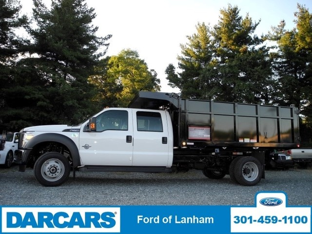 2016 F-550 Crew Cab DRW 4x4, Reading Landscape Dump #267313 - photo 3
